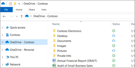 dong bo tep voi onedrive 6